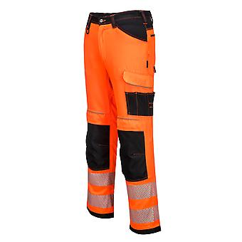 sUw Mens PW3 Hi Vis Workwear Trouser
