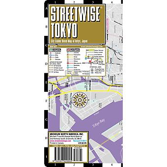 Streetwise Tokyo Map  Laminated City Center Street Map of Tokyo Japan  City Plans