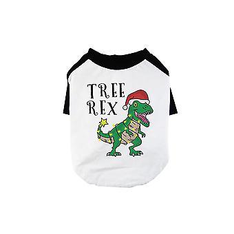 Tree Rex Cute BKWT Pets Baseball Shirt X-mas Present