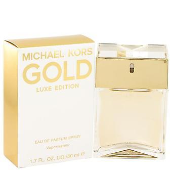 Michael kors gold luxe eau de parfum spray by michael kors 515688 50 ml