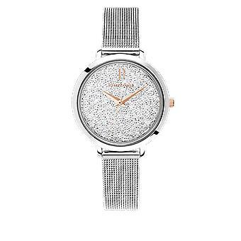 Show Pierre Lannier 107J608 - steel woman Swarovski crystals watch