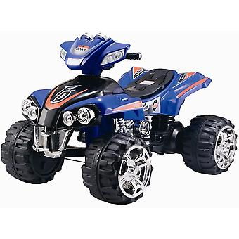 RideonToys4u 12V Electric Ride On Quad Bike ATV Blue Ages 3-8 Years