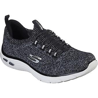 Skechers النساء استرخاء صالح الإمبراطورية D & أبوس؛ لوكس شارب ويتكيد الأحذية