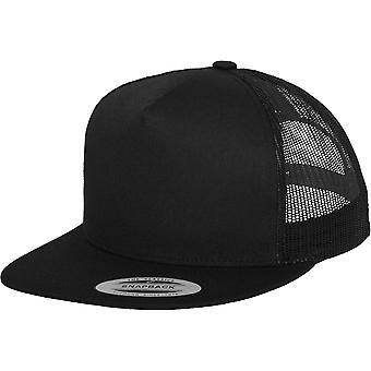 Flexfit by Yupoong Mens Classic Polyester Snapback Cap