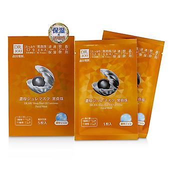 Black Pearl EX Luminous Facial Mask 5pcs