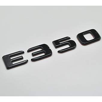 glans svart E350 flat mercedes benz bil modell bak boot nummer brev klistremerke merket emblem for E klasse W210 W211 W212 C207/a207 W213 AMG