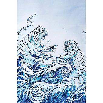 Marc Allante, Maxi Poster - The Crashing Waves