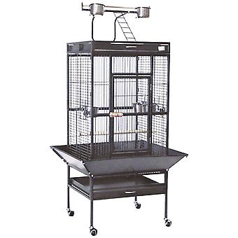 Ica Cage Gray Park-Forge with Foot Ext (Birds , Cages and aviaries , Cages)
