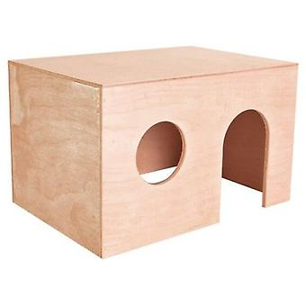 Trixie Wood House (Small pets , Cage Accessories , Maisonnettes et Tunnels)