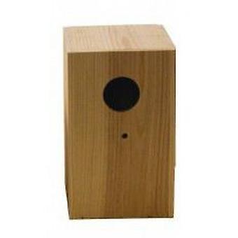 Nid d'yao inséparable bois Vertical (oiseaux, accessoires Cage oiseaux, nids et compléments)