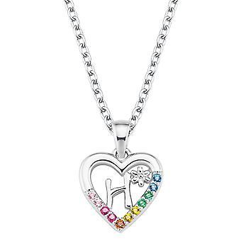 Princess Lillifee Kids Necklace Silver Letter Necklace H Girls 2027882