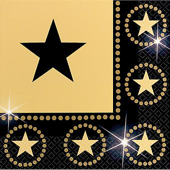 Amscan Star Attraction Paper Napkins
