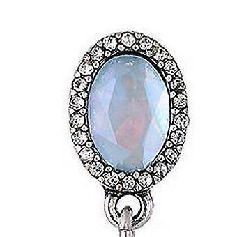 Sparkle Womens/Ladies Iridescent Drop Earrings