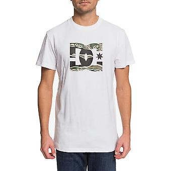DC Star 3 Short Sleeve T-Shirt in Snow White/Camo