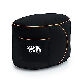 Portal Jump Loft 25 &Game Over&Apos; Gaming Foot Stołek Pouffe Bean Bag Gamer Xbox One PS4 Switch
