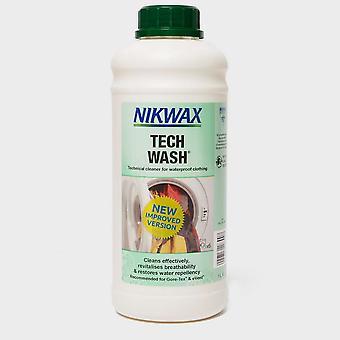 Neue NIKWAX Tech Wash® 1L für nasses Wetter Kleidung und Ausrüstung grün