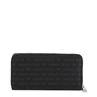 Armani Jeans Original Unisex All Year Wallet - Black Color 34390