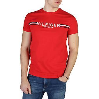 Tommy Hilfiger Original Men Spring/Summer T-Shirt - Red Color 49291