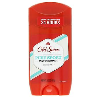 Old spice high endurance men's deodorant, pure sport, 3 oz