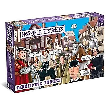 Horrible Histories Terrifying Tudors 250 Piece Jigsaw Puzzle