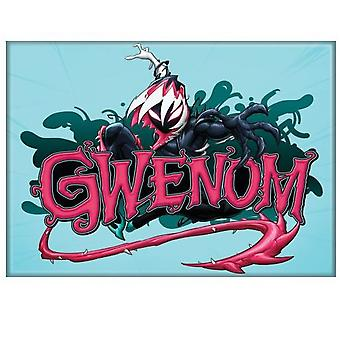 Gwenom Venom and Spider-Gwen Mashup Magnet