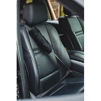 Nordvek Luxury Natural Sheepskin Seat Belt Cover - Universal Fitting # 109-100