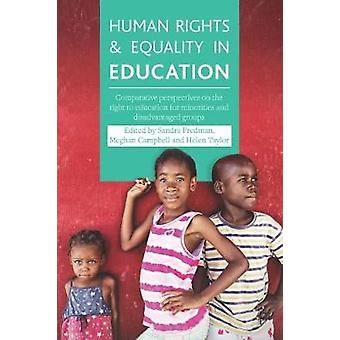 Derechos Humanos e Igualdad en la Educación - Perspectivas Comparativas sobre t