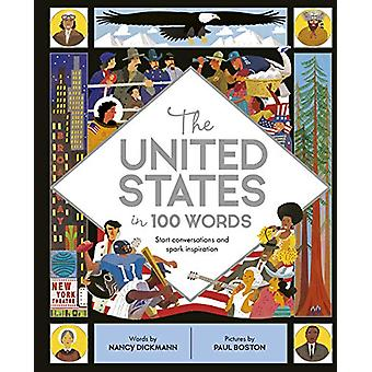 The United States in 100 Words by Nancy Dickmann - 9780711242432 Book