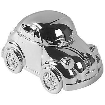 Orton West Car Money Box - Silver