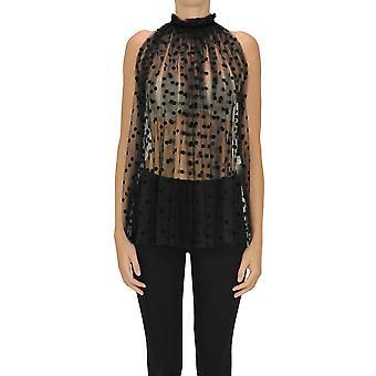 N°21 Ezgl068191 Women's Black Nylon Top