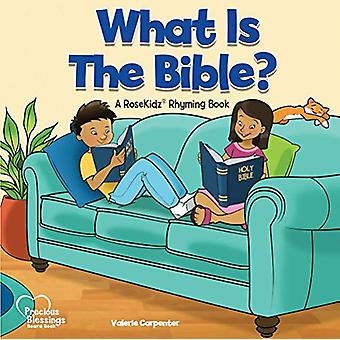 Kidz - What Is the Bible? Board Book by Valerie Carpenter - 9781628628