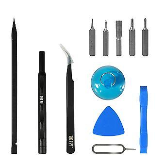 12 i 1 verktøysett reparasjonssett for Apple iPhones åpning verktøy reparasjon skrutrekker sett ny