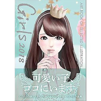 Girls 2018 by Yasuko Sagawa - 9784862493491 Book