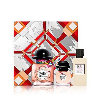 Hermes - Twilly d'Hermes GIFTSET, Edp Spray 50 ml/Edp Spray 7,5ml/Moisturizing Body Lotion 40 ml - 0ML