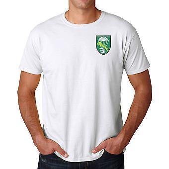 Forças especiais ARVN LLDB bordado logotipo - camisa de algodão Ringspun T