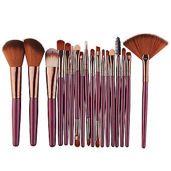 Make-up kefy Tool Set - Kozmetická prášok očné tiene nadácie červenať miešanie krása make-up kefa