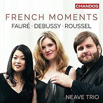 Debussy / Faure / Neave Trio - French Moments [CD] USA import