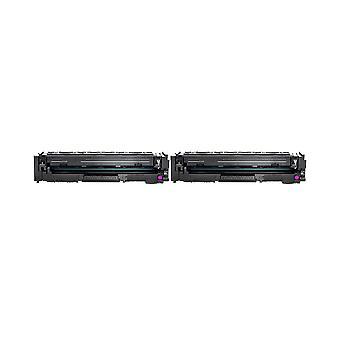 RudyTwos 2 x 用トナー ユニット マゼンタ X HP 203 色 LaserJet Pro M254dw、M254nw、MFP M280nw、MFP M281fdn、MFP の M281fdw との互換性