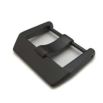 Correa de reloj hebilla 24mm pvd negro 316l tornillo de acero inoxidable tipo 6mm hebilla de la lengua para campana&ross br01 br03 watchban