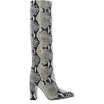 Paris Texas Px120xpn01naturale Women's Beige/black Leather Boots