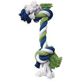 Hagen DOGIT COTTON ROPE IN BLUE / LIME / WHITE 40 cm (Dogs , Toys & Sport , Ropes)
