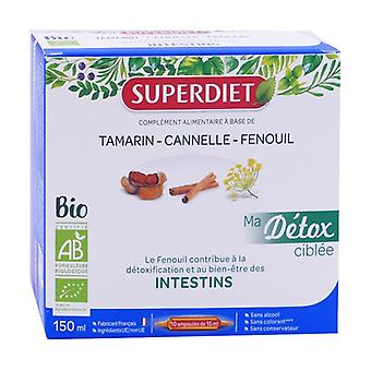 My targeted Detox Fennel Intestines Bio 10 ampoules of 15ml