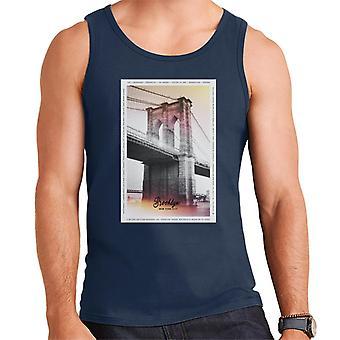 Divide & Conquer Brooklyn Bridge Men's Vest