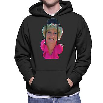 TV keer Vera Duckworth gespeeld door Elizabeth Dawn Coronation Street mannen Hooded Sweatshirt