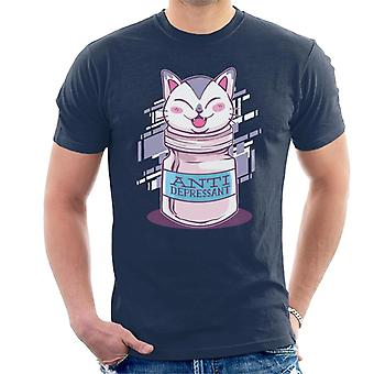 Antidépresseur Cat Men-apos;s T-Shirt