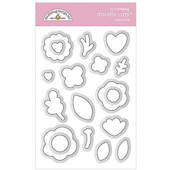 Doodlebug Design I Pick You Doodle Cuts