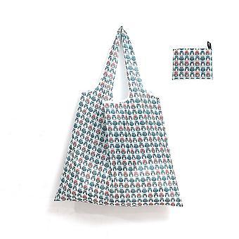 Bolsa de compras impermeable Bolsa de compras reutilizable grande bolsa de compras plegable portátil de protección del medio ambiente