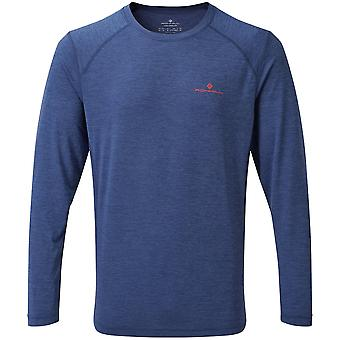 Ron Hill Mens Momentum Breathable Wicking Long Sleeve Top