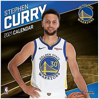 2021 NBA Calendar Golden State Warriors Stephen Curry
