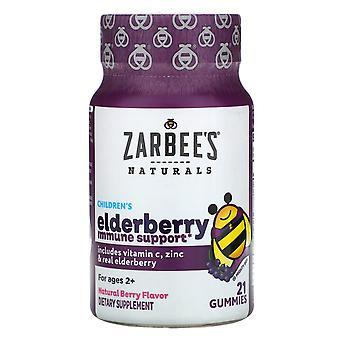Zarbee's, Children's Mighty Bee, Elderberry Immune Support, Natural Berry Flavor